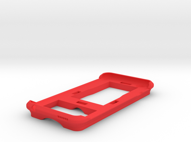iPhone 6 Mountable Case in Red Strong & Flexible Polished