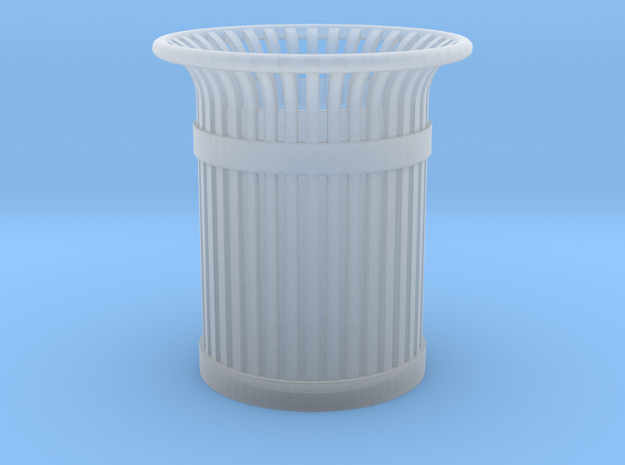 Urban Trashcan 1:48 in Smooth Fine Detail Plastic