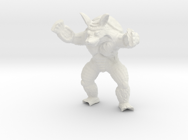 Wrath of Armadillo - Toys in White Natural Versatile Plastic