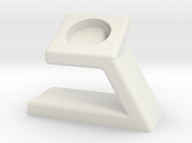 Apple Watch Stand in White Strong & Flexible
