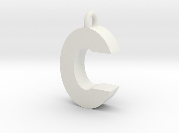 Alphabet (C) in White Strong & Flexible