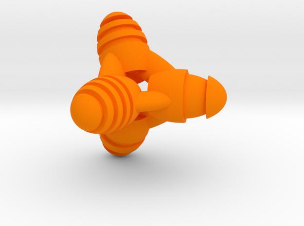 Tetraeggs (color) 3d printed