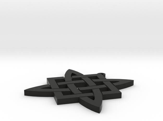 Liada Medilion in Black Natural Versatile Plastic