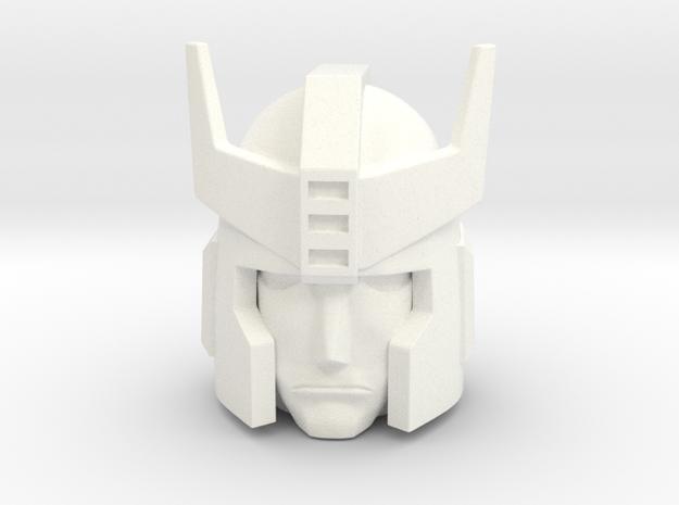 Prowl G1 Head 12mm  in White Processed Versatile Plastic