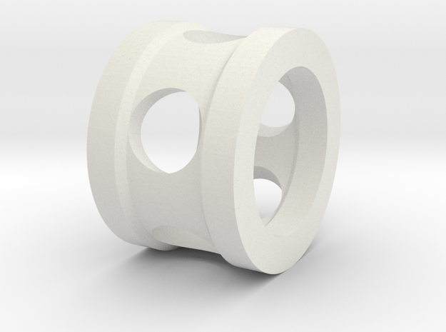 FF-8-004 - Element Through Sealings in White Natural Versatile Plastic