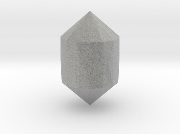 Small Gem in Metallic Plastic