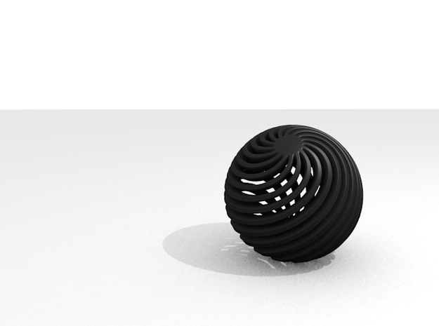 Ball 3d printed Render from Blender