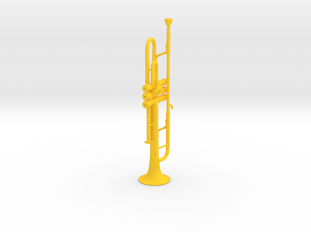 Michael's Mini Trumpet 3d printed
