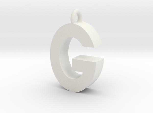 Alphabet (G) in White Strong & Flexible