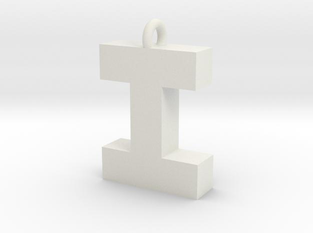Alphabet (I) in White Strong & Flexible