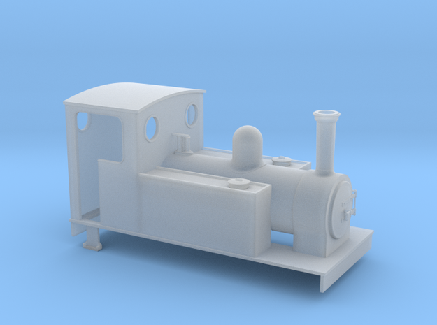 TTn3 Freelance 0-6-0T in Smooth Fine Detail Plastic