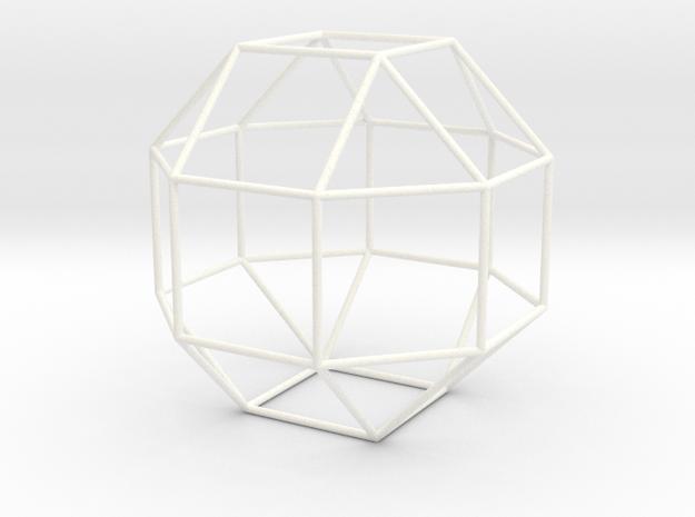 Vigintisex Basium Planus Vacuus in White Processed Versatile Plastic