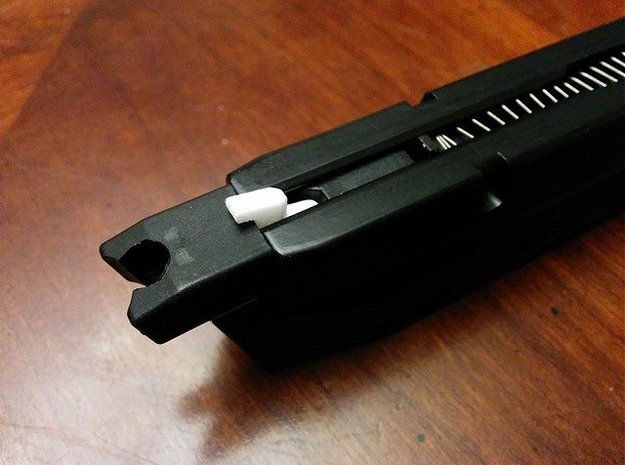 GBB Pistol Dry Fire Adapter in Black Strong & Flexible