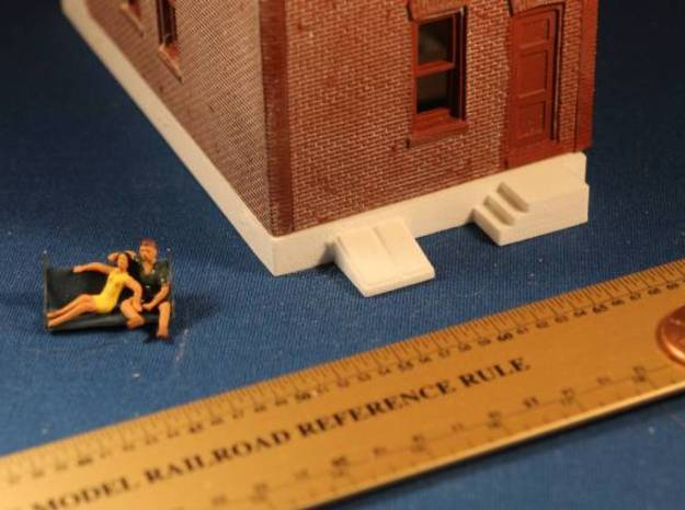 DPM Townhouse #1 Foundation 3d printed