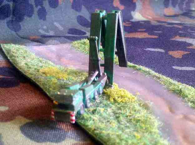1/300 Tatra 813 Deploying PM 55 Bridge 3d printed