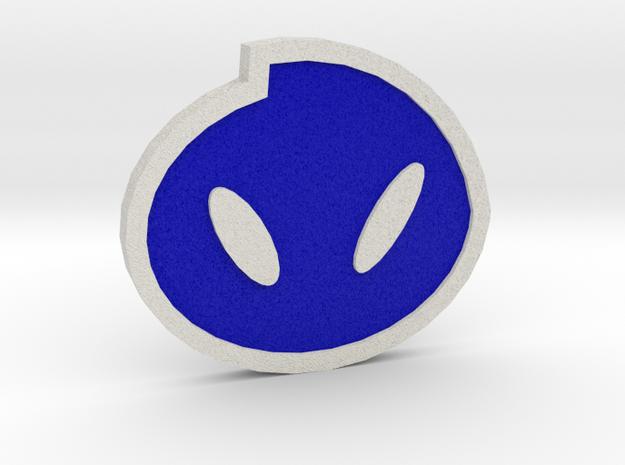 Fog Badge - Johto Pokemon Bagdes in Full Color Sandstone