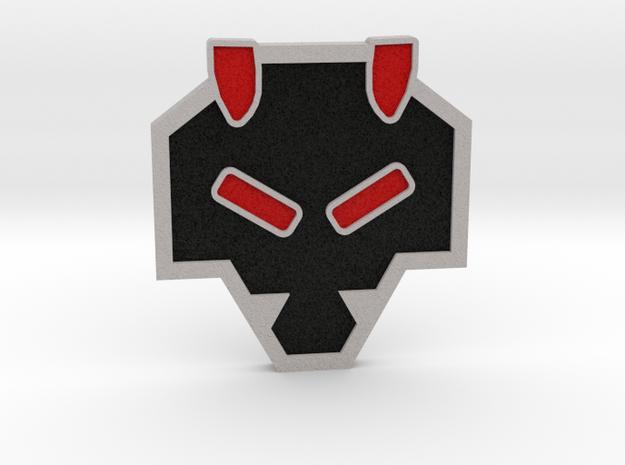 Rising Badge - Johto Pokemon Bagdes in Full Color Sandstone