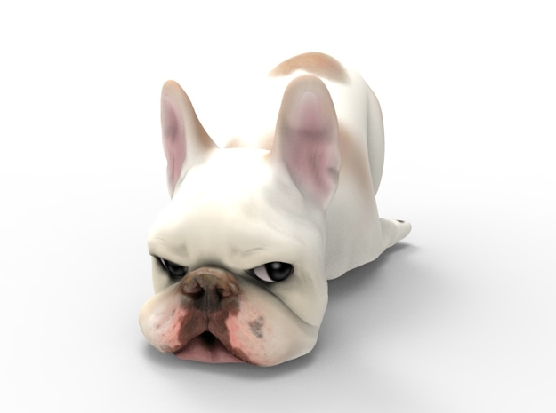 Custom Frenchie Small in Full Color Sandstone