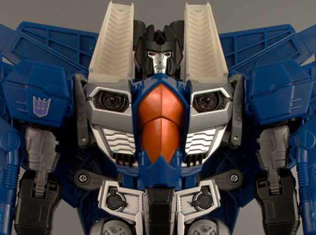 Transformers Leader Class Seeker Intakes Set