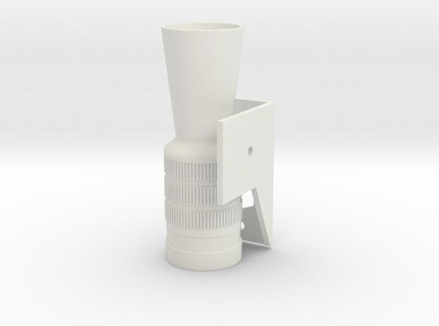 Luke DL44 Two Piece Kit in White Strong & Flexible