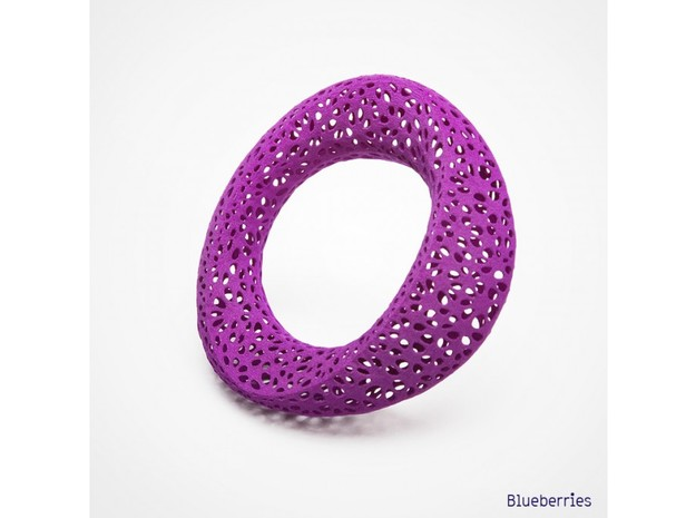 bracelet delaunayFlower 65mm 3d printed