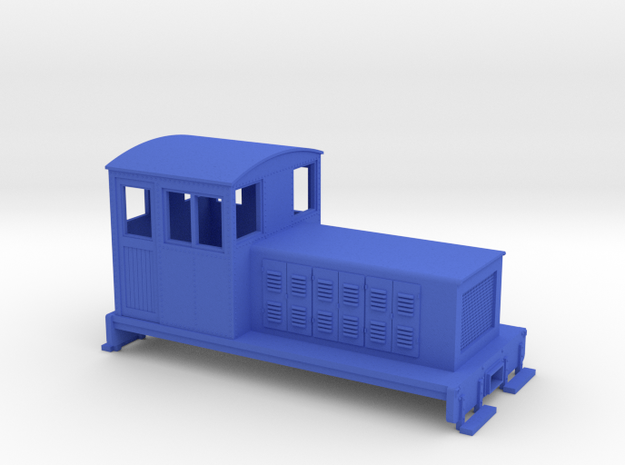 HOn30 Endcab conversion 3 for Kato 11-105 chassis 3d printed