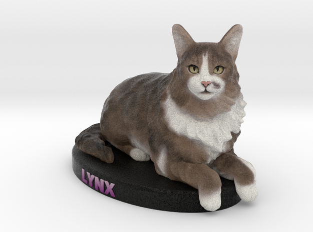 Custom Cat Figurine - Lynx
