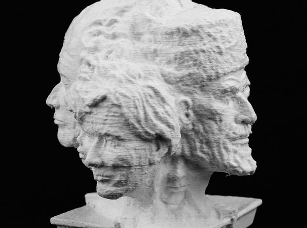 Women & Children Sculpture - Antiques in White Natural Versatile Plastic
