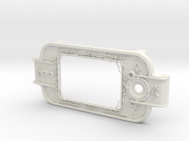MPDA Screen Faceplate (Size 2) in White Strong & Flexible