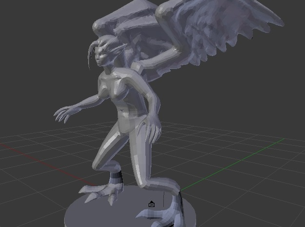 Harpy in White Strong & Flexible