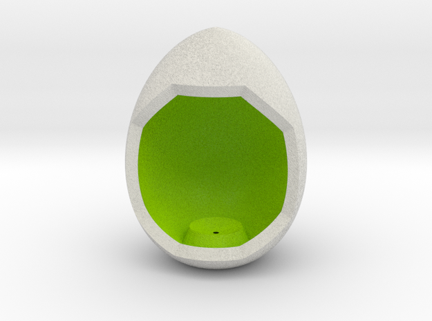 LuminOrb 1.2 - Egg Stand in Full Color Sandstone