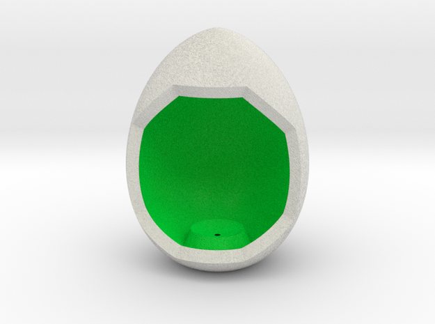 LuminOrb 2.2 - Egg Stand in Full Color Sandstone
