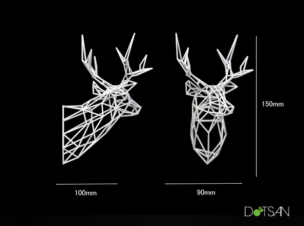 Wired Life Stag 150mm Facing Left