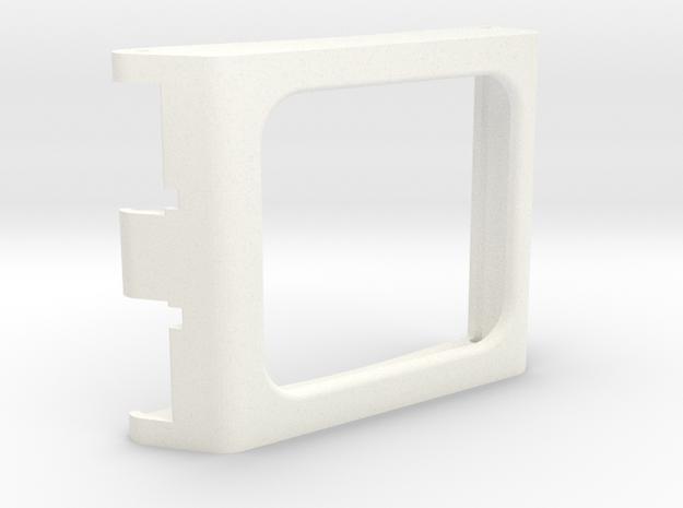 Boba Fett ESB Range Finder - Polaroid Lens Cover  in White Strong & Flexible Polished