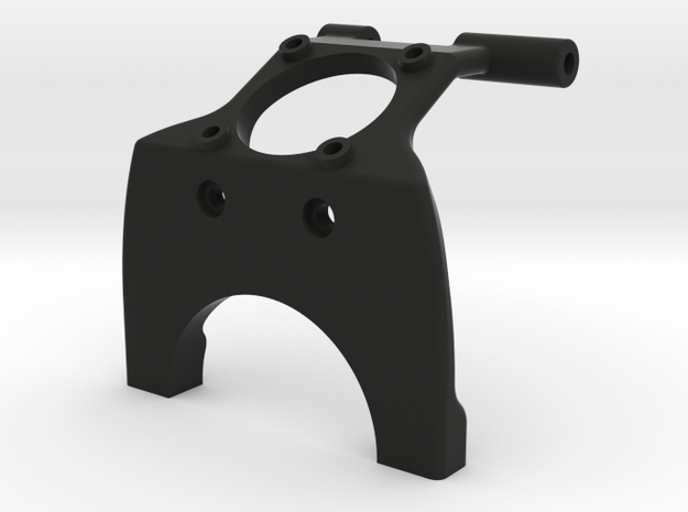 22 mm Saddle Brace with fan mount in Black Strong & Flexible