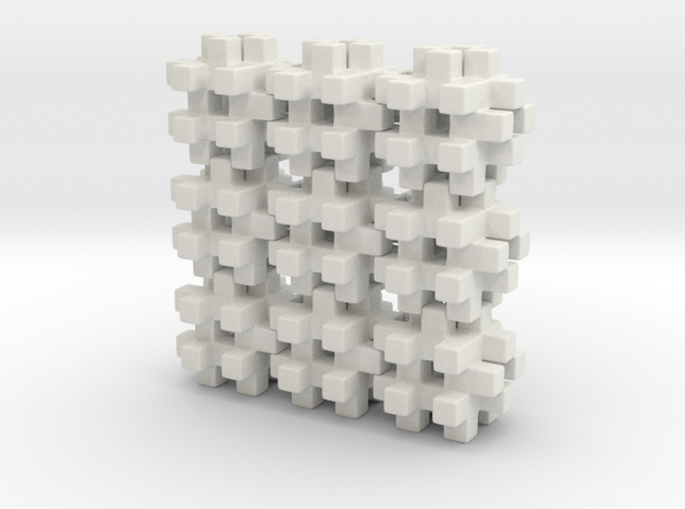 Buildblocks Variant 3v5 in White Strong & Flexible