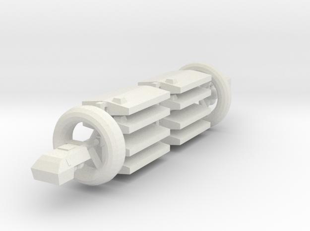 [Galaxia] 2-1-LASH(AG)-BRI in White Natural Versatile Plastic