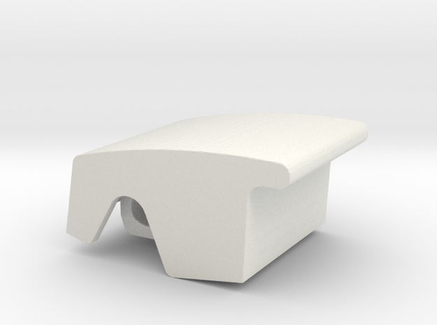 Window Switch Vauxhall 04-09 in White Natural Versatile Plastic