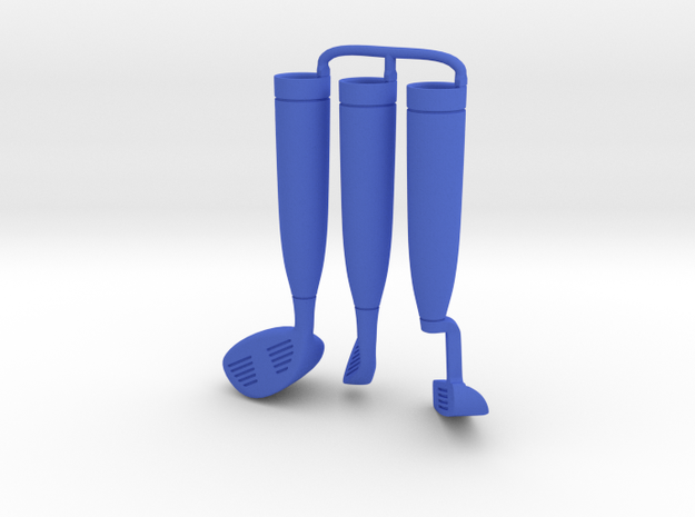 Putter Iron Drive - BLUE in Blue Processed Versatile Plastic