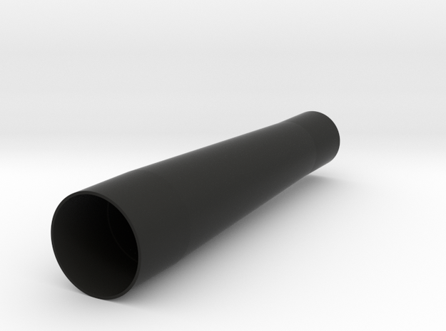 24 Mm To 18 Mm Tube in Black Natural Versatile Plastic