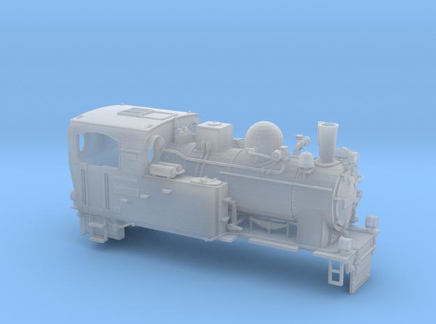 Schmalspurdampflok BR 996101 i H0m (1:87) 3d printed