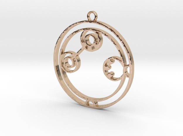 Adaline - Necklace in 14k Rose Gold Plated Brass