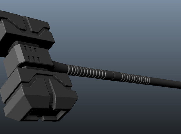 TF Hammer ULTR-MGNS x1 3d printed