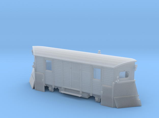 Schmalspur-Schneepflug Spur H0m (1:87) 3d printed