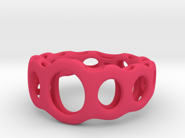 Child Ring Opus 2 size 3 in Pink Strong & Flexible Polished