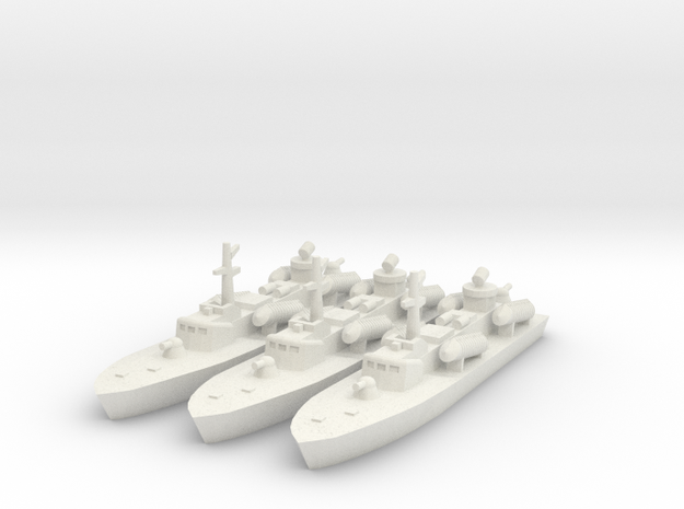 1/700 OSA-2 Missile Boat in White Strong & Flexible