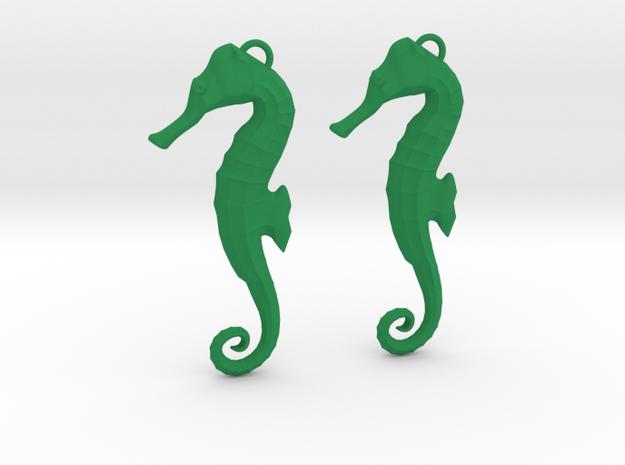 Seahorse Earring  3d printed