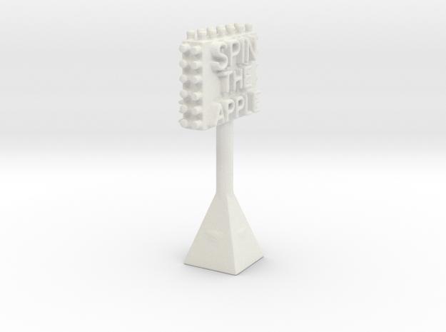Applesign in White Natural Versatile Plastic
