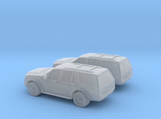 1/160 2X 2009 Ford Expedition in Smooth Fine Detail Plastic