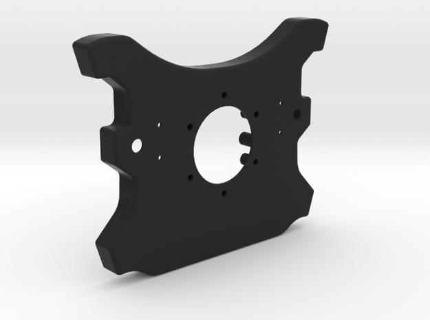 McLaren - Rear Enclosure - V3 in Black Natural Versatile Plastic